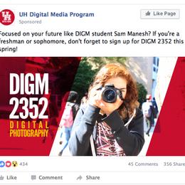 UH DIGITAL MEDIA PROGRAM SOCIAL MEDIA