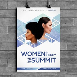 WOMEN@DISNEY 2020 SUMMIT BRANDING