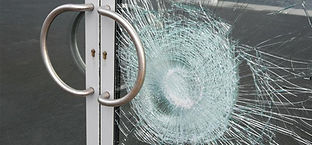 Security window film protection  Holds glass together in the event of break-ins or accidents Tear-resistant film Blocks heat Has same benefits as impact film Available in severval strengths Bomb blast resistant