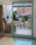 decorative window Film in Hospitals Hospitals and health care facilities, have started  installing  window film as a means for both protection and energy efficiency.   In the case of a natural disaster, medical facilities need to have a plan for patients' safety. Specially designed window films reduce the risk of damages by helping shattered glass hold together, preventing flying shards of glass and protecting the patients and the valuable medical equipment.   Shattered glass can expose a hospital building or hospital rooms, along with expensive medical equipment to intruders and theft.   Window film rejects 99% of harmful UV rays that cause skin cancer, providing another form of protection for hospital patients. It can also block up to 86% of the sun's heat, making a medical facility more comfortable for those being treated.   The significant reduction of the sun's heat aids in the building's energy efficiency as less energy is needed from the HVAC cooling systems a