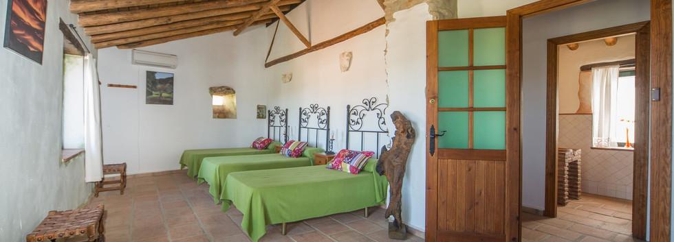 Dormitorio Verde Casa Algaba