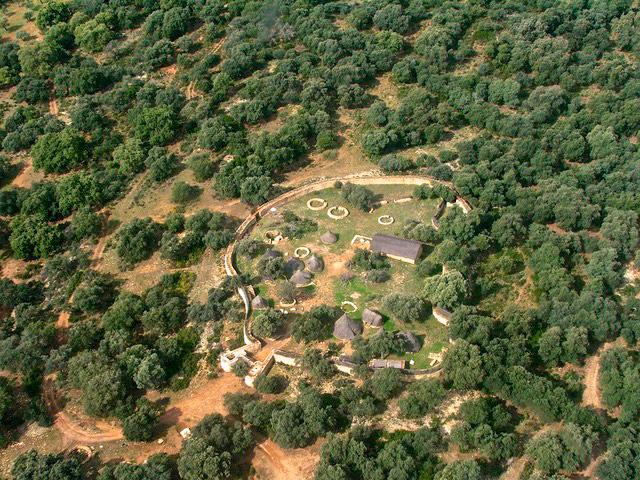 Poblado neolítico desde el aireP9120023