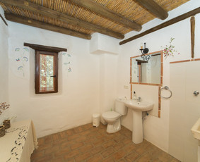 Baño sin ducha Cabaña