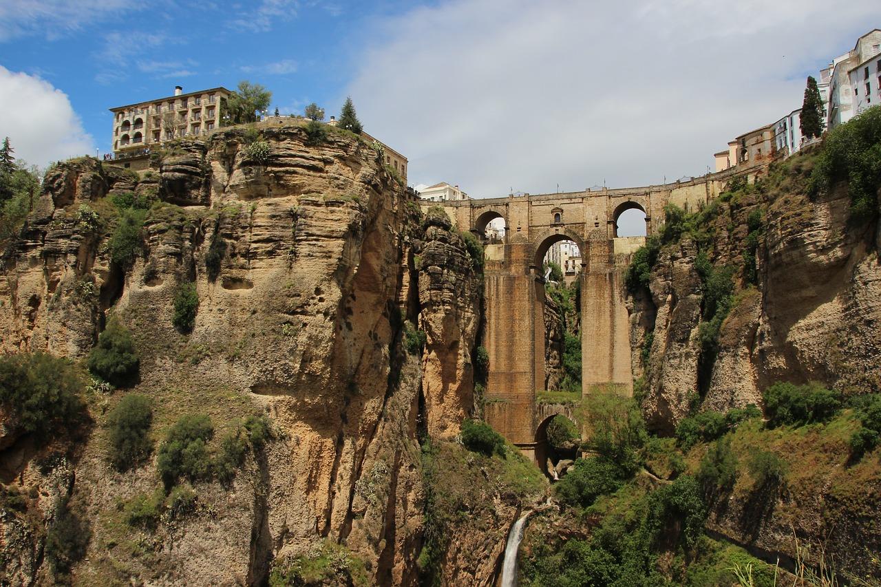 El Tajo de Ronda y el Puente Nuevo
