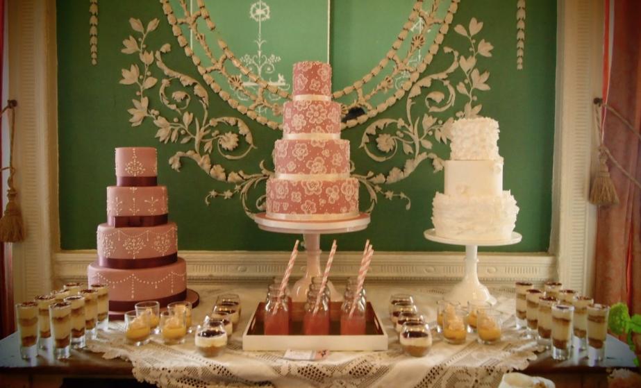 Wedding Cake Dessert Tables