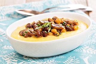 Mashed Potatoes and Mushrooms