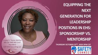 Equipping The Next Generation For Leadership: Sponsorship vs. Mentorship