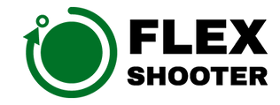 flex-shooter-logo_white-green-350px-for-