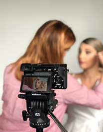 Content creation for BTS of a make-up tutorial with Jean Coutu / Personnelle products.