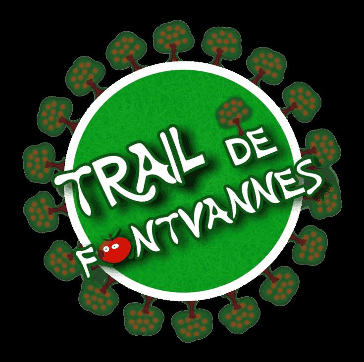 Logo Trail de Fontvannes circulaire et en transparence