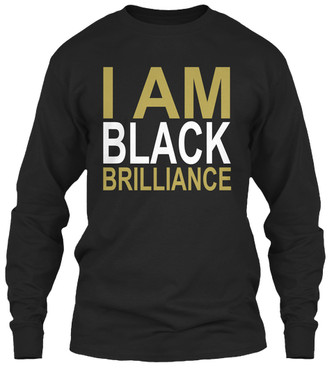 AphiA - I Am Black Brilliance longsleeve