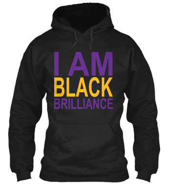 Omega - I Am Black Brilliance hoodie