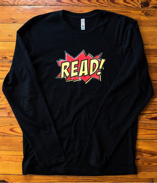 """READ"" longsleeve (black)"