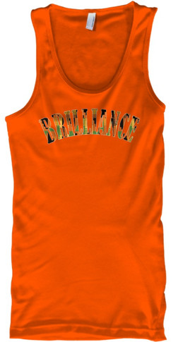 Kente Brilliance Tank (orange)