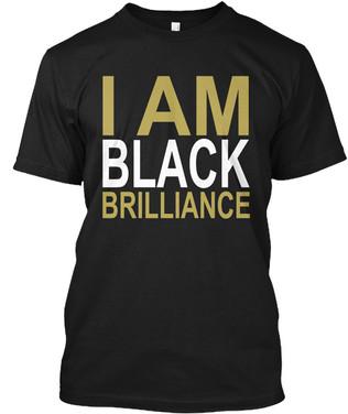 AphiA - I Am Black Brilliance tshirt