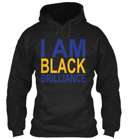 SGrho - I Am Black Brilliance hoodie