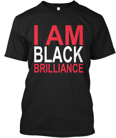 Delta/Kappa - I Am Black Brilliance tshirt