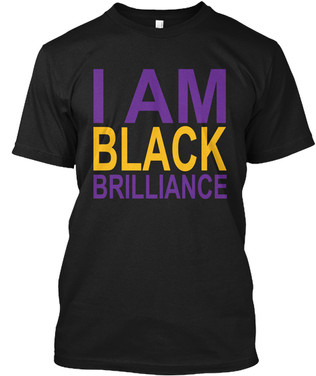 Omega - I Am Black Brilliance tshirt