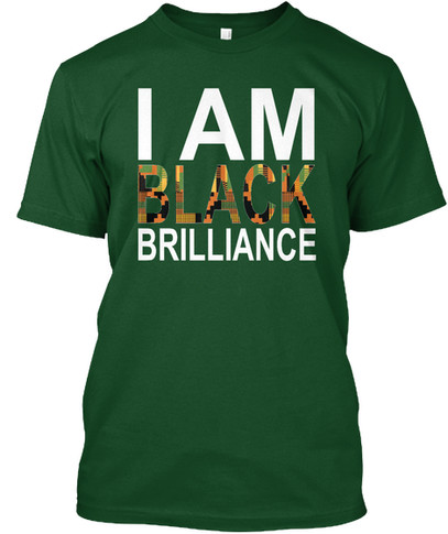 Kente Brilliance tshirt (green)
