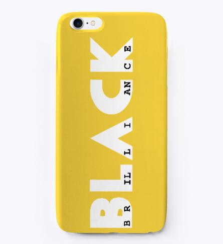 Signature phone case (yellow)