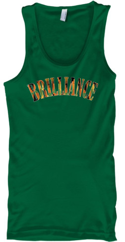 Kente Brilliance Tank (green)