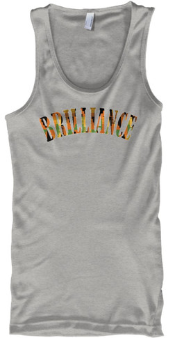 Kente Brilliance Tank (grey)