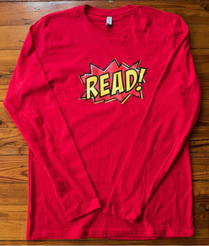 """READ"" longsleeve (red)"