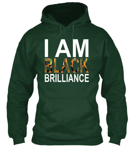 Kente Brilliance hoodie (green)