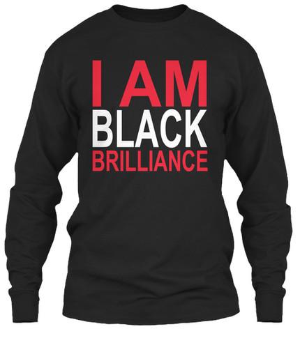 Delta/Kappa - I Am Black Brilliance longsleeve