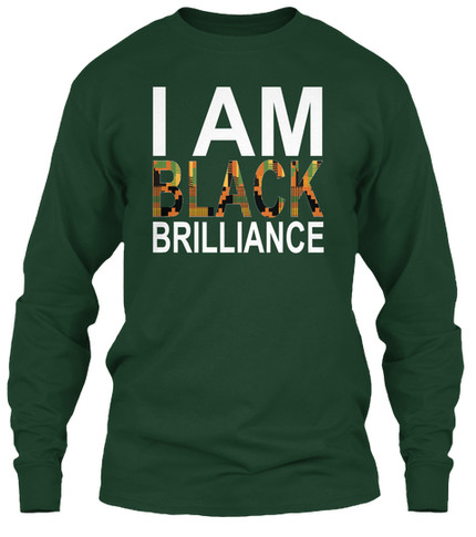 Kente Brilliance longsleeve (green)
