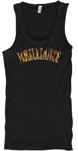 Kente Brilliance Tank (black)
