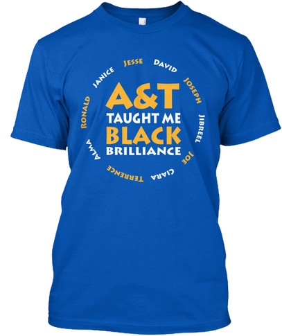 A&T Taught Me tshirt