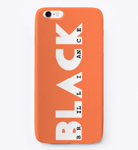 Signature phone case (orange)