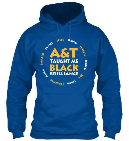A&T Taught Me hoodie