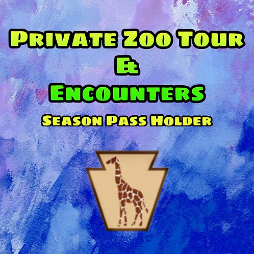 Private Zoo Tours with Encounters (Season Pass Holder)