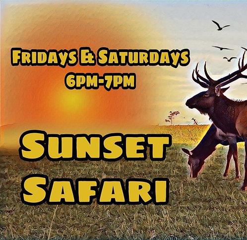 Sunset Safari Drive Thru for *10/23 or 10/24* 6pm-7pm