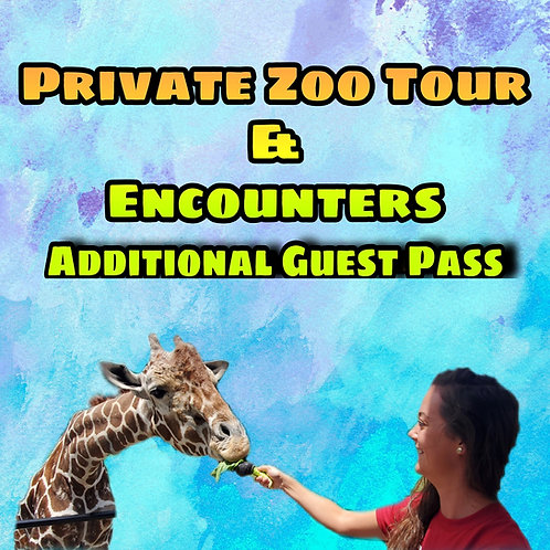 Additional Guest for Private Zoo Tour