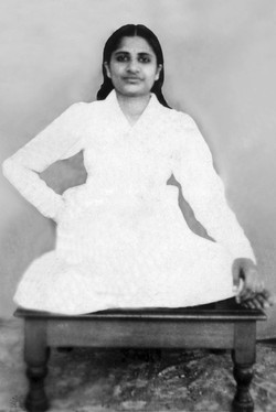 Dadi Prakashmani in Tapasya -1940s