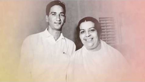 BK Nirwair bhai with Mamma Saraswati