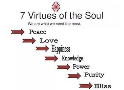 7 virtues of Soul in Hindi
