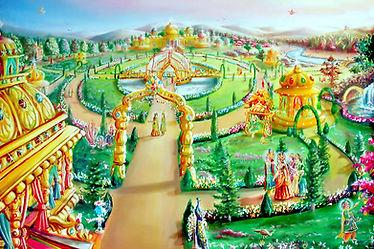 Houses in Heaven -a Glance of Golden Age - Satyug - Heaven - BK