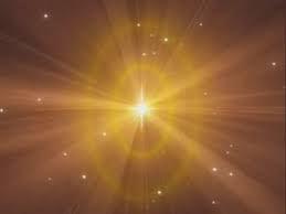 Shiv Baba golden light image - BK