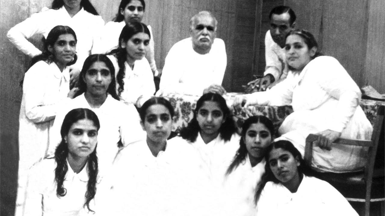 Brahma baba with BK family