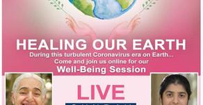 LIVE Seminar of BK Shivani and BK Jayanti - Healing the World - 19 April 2020