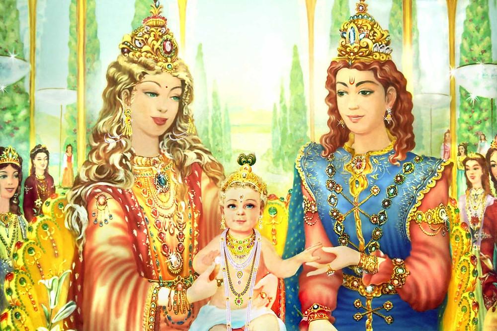 Birth of Shri Krishna will be through Yog