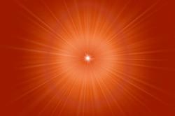 Shiv baba trans-light rays Image