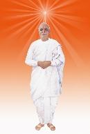 Brahma baba in Angel dress - BapDada