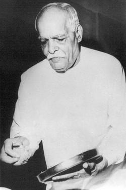 BapDada giving Toli - Brahma Kumaris