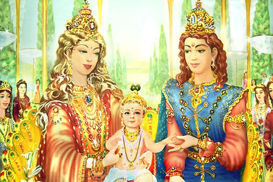 Satyug, Birth of Shri Krishna -Glance of Golden Age - Heaven - New World Brahma Kumaris