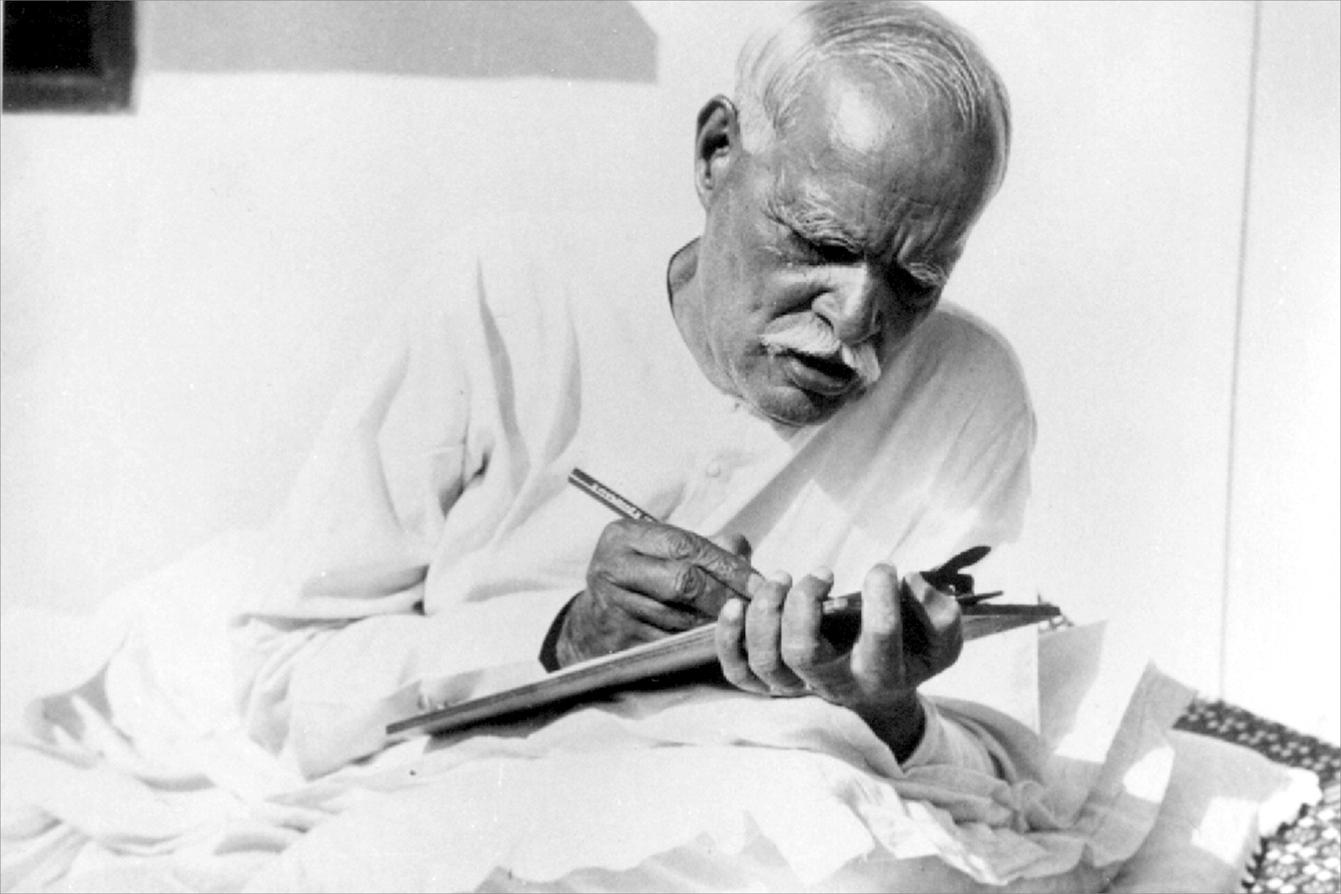 BapDada writing letters to children